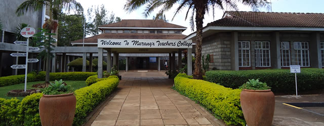 Murang'a Teachers Training CollegeElimu ni mwangaza